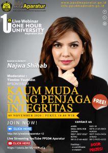One Hour University : Kaum Muda Sang Penjaga Integritas