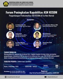 Forum Peningkatan Kapabilitas ASN KESDM
