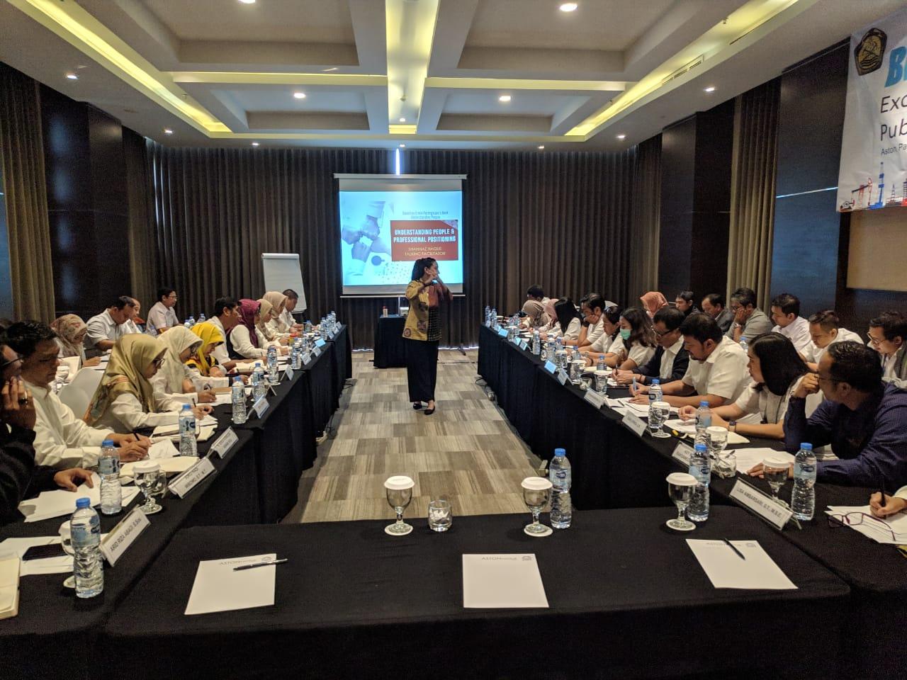 PPSDM Aparatur kembali membuka Bimtek Public Speaking